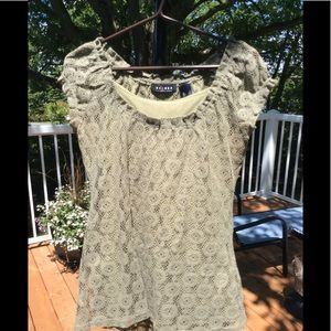 🌼3/25 lace top with cami sz S